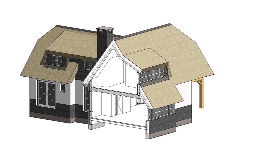 Landhuis 3D BIM model