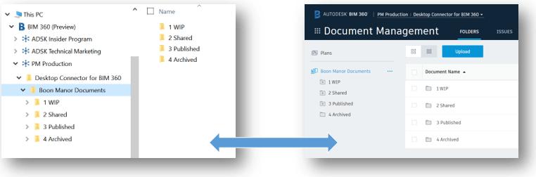 bim 360 docs desktop connctor